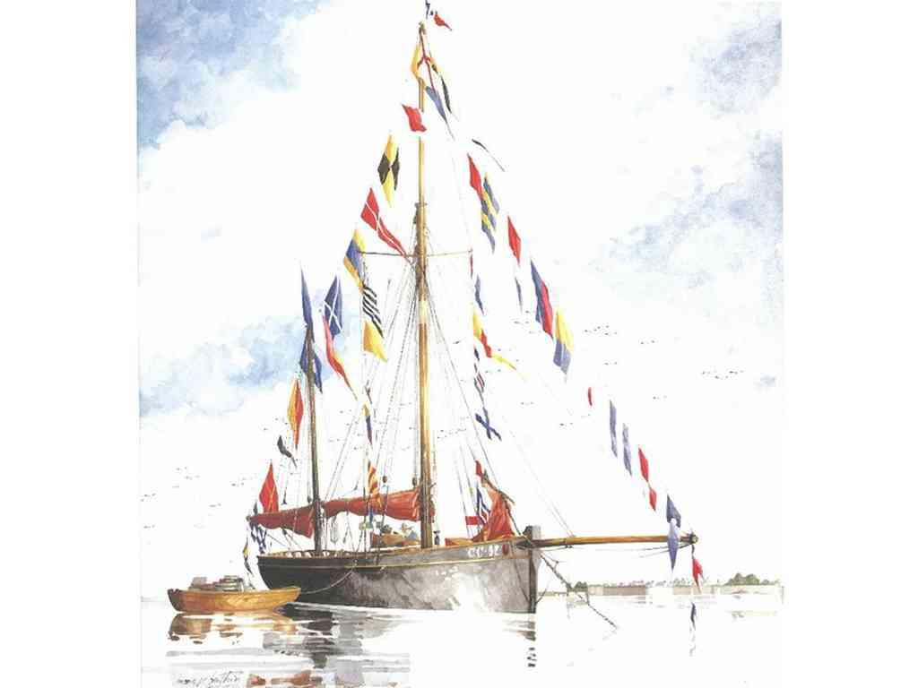 """Conférence sur """"L'étiquette navale"""" par Marc P.G. Berthier"""