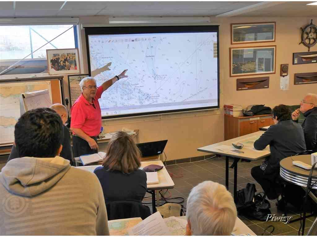 Samedi 9 décembre 4 ème cours de navigation