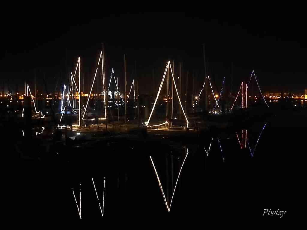 Illuminations du port
