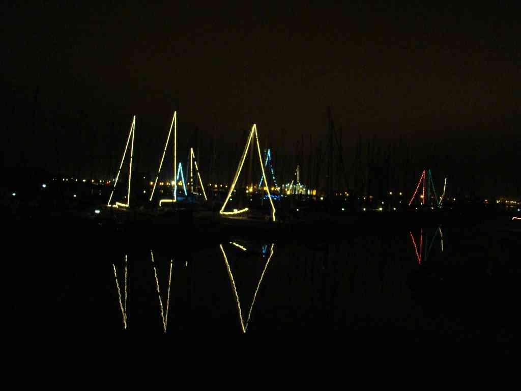 L'illumination des bateaux et le retour des guirlandes!