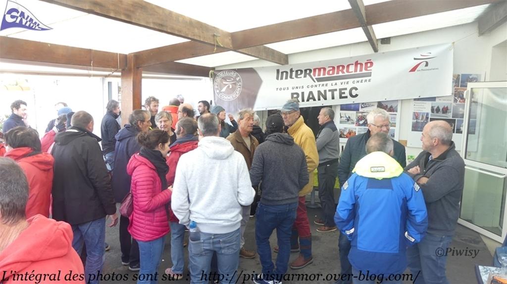 Photos de la régate du 08/12/2019, régate de Intermarché Riantec