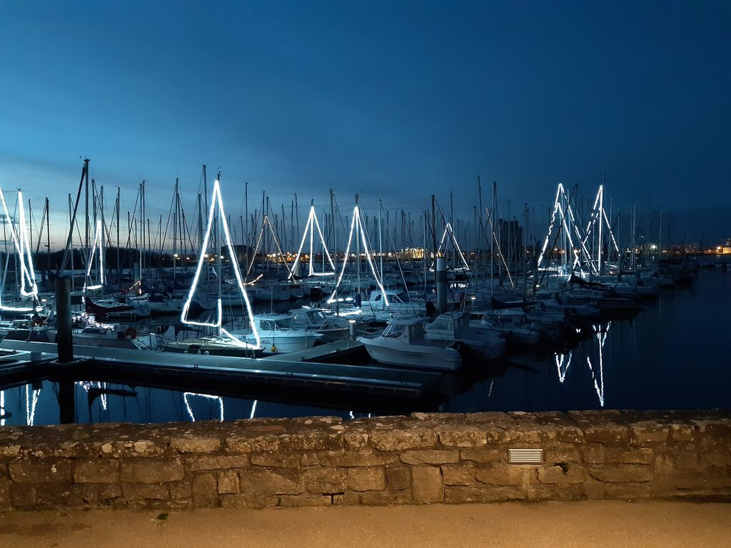 Illuminations du port