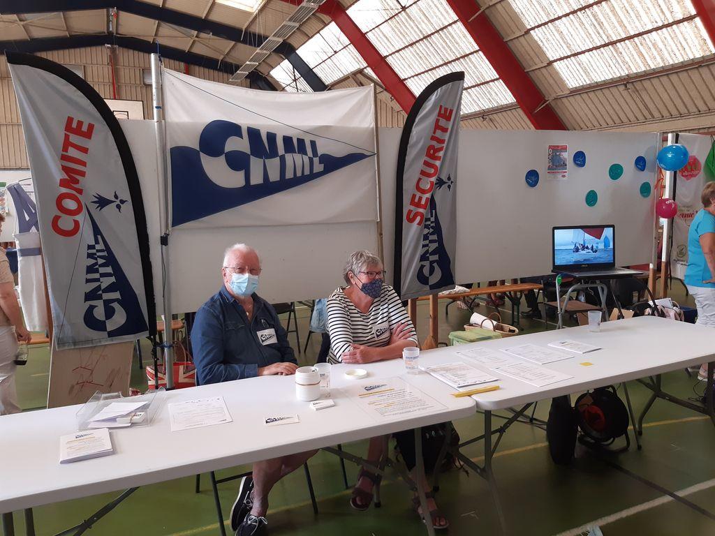 CNML présent au FORUM des Associations le 4 septembre 2021